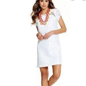 Gianni Bini Molly Little White Dress Lace Knit - 4